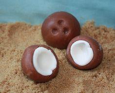 Coconut Cupcake Charms
