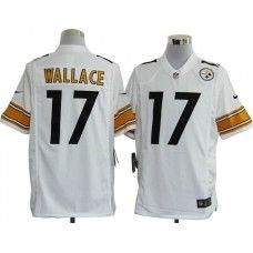 Pittsburgh Steelers 17 Mike Wallace Limited Team Color Jersey