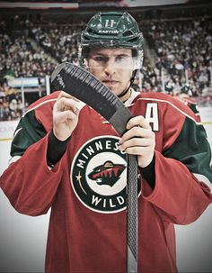 Zach Parise . Your father J P is shinning down on you. What a great player. What a great person. Proud to be a fan of yours. Pure class.