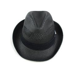 IKKS boys straw fedora hat