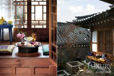 LUXURY_ Hanok traditional and modern in harmony with the five modern landscape became 新年 风景