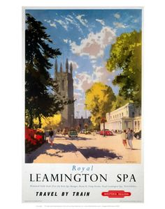 Royal Leamington Spa, England...