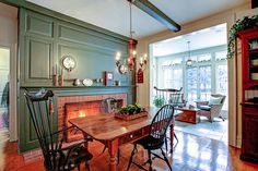 Enjoy your breakfast on cold mornings next to the wood burning fireplace   47 Chartwell Road, Oakville