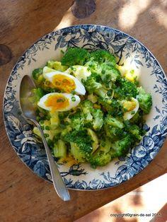 Vitalknaller Brokkoli - im Salat