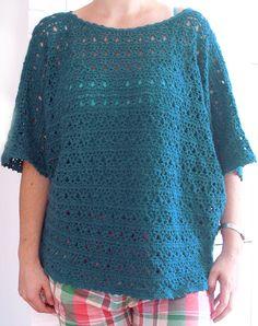 Atelier Rozmaitości: sweterek na chłodne lato