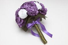 Bridal Bouquets - Ramos de novia de peonias y rosas