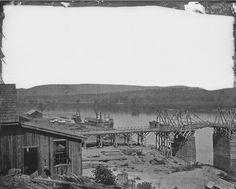 Tennessee River, Tenn.   20 Beautiful Civil War-Era Photographs Of American Landscapes