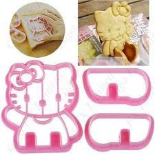 Hello kitty 3D Plastic cookie cutter  CQ84 by RUSTIKOcakeDecoratio, €7.40