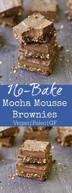 Paleo No Bake Mocha Chocolate Mousse Brownies are a more nutritious way to enjoy your chocolate! These delicious brownies have 2 layers of goodness: dense almond chocolate crust with a light chocolate mocha mousse topping. Refined sugar free, Vegan, Gluten-Free, and Paleo! I could not wait to share this recipe with you today. I've been...Read More »