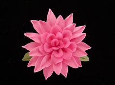 Cold Porcelain Dahlia Pin | Meylah