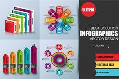 Infográficos Negócios Digitais 3D Abstrato Abstraia o modelo digital do projeto do vetor dos elementos do negócio digital 3d. Pode ser usado para fluxo de trabalho, processo de negócio, diagrama, bandeira, trabalho em equipe, web design, infográfico geométrico, sucesso.  100% Vector  Texto editável  Arquivos ZIP Inclui: 6 – EPS10, 6 – AI, 6 – Imagens JPG 300dpi, 6 – Imagens PNG 300dpi. Fontes são usadas: arial, impacto. - IA Produtos