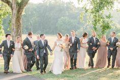 Romantic Champagne Belmont Manor Wedding // Photography by Lauren Myers Photography . Wedding Poses, Wedding Ceremony, Belmont Manor, Formal Gardens, Bridesmaid Dresses, Wedding Dresses, Best Day Ever, Destination Wedding Photographer, Wedding Pictures
