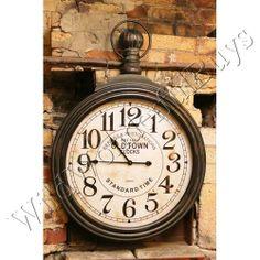 Pocket Watch Wall Clock 8999 at countrydoorcom Its About