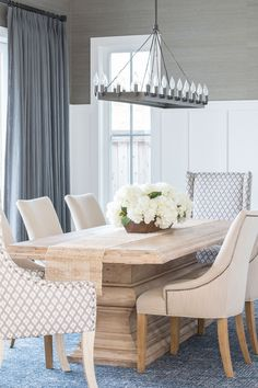 Project Newport Harbor PART TWO Gray Dining RoomsDining