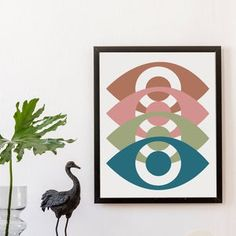Eyes Boho Abstract Art Instant Download Digital Print | Etsy Steampunk Gears, Bohemian Lifestyle, Upcycled Crafts, Frame It, Hippie Boho, Digital Prints, Abstract Art, Finding Yourself, Decor Ideas