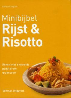 De rijst- & risottobijbel geeft een toonaangevende kijk op 's werelds populairste graansoort. Ruim 160 verrukkelijke recepten worden stap voor stap gepresenteerd; met klassieke favorieten als biryani en pilav, sushi, gebakken rijst, paella, risotto, jambalaya, kedgeree en rijstpudding. Prachtig geïllustreerd met ruim 1000 kleurenfoto's. Een uitgebreide gids over rijstsoorten en hoe ze toegepast en perfect gekookt kunnen worden.