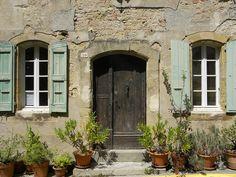 La façade ensoleillée, St Félix-Lauragais, Haute-Garonne, France, by villerose4431 -