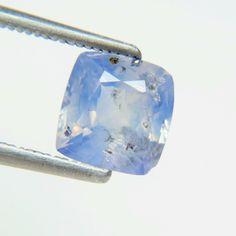 3.27Ct Rare Wonderful Cushion Shape 8mm Fine Natural Sri Lanka Blue Sapphire