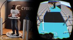 Cyberith VIRTUALIZER + Oculus RIFT + Gun = Ultimate VR Immersion 3 Point Decoupling System - YouTube
