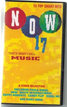 NOW That's What i Call Music 17 - VHS
