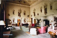 The Great Hall. Lacock Abbey