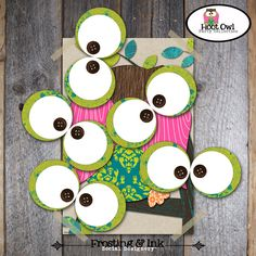 Pin The Eye on the Owl Game - Owl Party super could also diy
