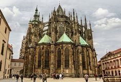 Prag -  St. Vitus Cathedral /  by *pingallery - http://browse.deviantart.com/art/Prag-St-Veits-Dom-I-259940705