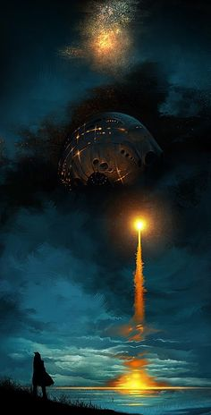 A sci fi feel to this. #Fantasy #scifi