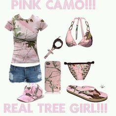 Pink camo Real Tree!