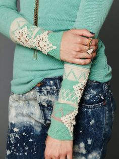 Free People Kombucha Cuff Thermal!     We have a Free People store in Memphis now, but it is SO out of budget.