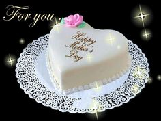 Mom Mothers Day Cake, Happy Mothers Day, Fathers Day, Mother And Father, Are You Happy, Desserts, Food, Birthday Cakes, Happy Birthday