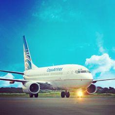 Despegando en 3, 2, 1...#Copa Airlines #Panama