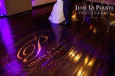 Jesse La Plante Photography | Wedding at The Pines | Genesee, CO | Custom wedding gobo
