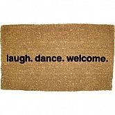 Welcome mat (on sale) $35
