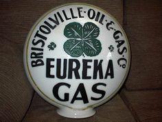 One Piece Bristolville Oil Gas Pump Globe