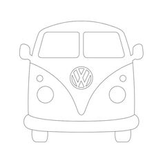 VW BUS | Silhouettte Cameo und Pazzles Inspiration Files