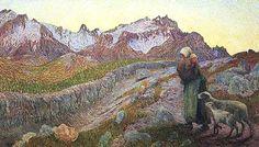 """Giovanni Segantini, """"Le due madri"""", 1898-1899, Bündner Kunstmuseum, Coira (Chur)"""