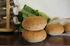 Sami's Bakery has Millet & Flax Hamburger Buns that are delicious as well as gluten free and yeast free. Perfect texture. Quick and easy shipping for the freshest baked goods made to order