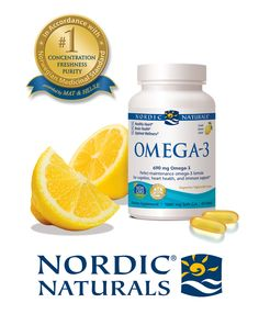 A formula with all of its constituents present in a wholesome, natural balance, Nordic Naturals Omega-3 soft gels are an easy way to get omega-3 EFAs every day. It is a great way to maintain healthy levels of EPA and DHA—the most important omega-3 fats. This pure, non-concentrated fish oil is the perfect nutritional complement to any healthy lifestyle.