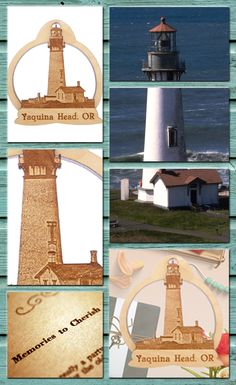 Exclusive Yaquina Head Lighthouse Ornament