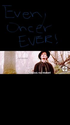 Oh God, not Marian Ouat, Once Upon A Time Funny, Once Up A Time, Movies Showing, Movies And Tv Shows, Disney Movies To Watch, Outlaw Queen, Captain Swan, Film Serie