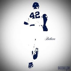 Jackie Robinson Silouette Believe Quotes Share On Whats App