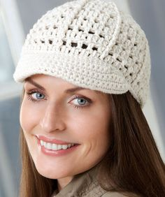 Brimming with Fun Cap: free #crochet pattern