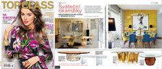 Top Class Magazine - Czech Republic | November 2016 | #bocadolobo #publications #luxuryfurniture #magazine