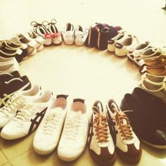 #OnitsukaTiger fan Vic Liebert shared his impressive #OnitsukaTiger collection with us. How many pairs do you have?