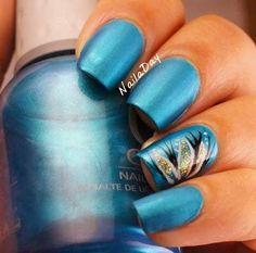 cute and easy manicure idea 2015