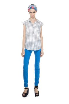 Tiffany Check Top - Marc Jacobs