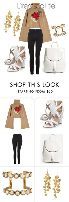 """""""White after Labor Day?"""" by dramatictitle on Polyvore featuring William Fan, Miss KG, Topshop, Everlane and Tory Burch"""