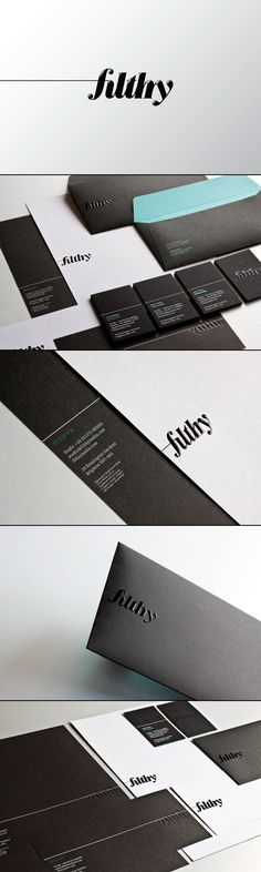 filthymedia - Corporate Identity and Stationery by filthymedia