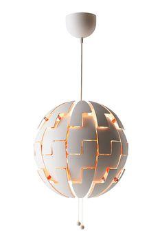 Luminaires constellés : Suspension Ikea PS 2014 Suspension, David Wahl (Ikea).